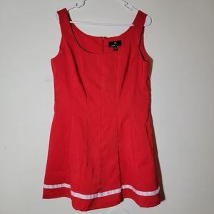 Ronni Nicole Plus Sized Cheerleader Costume Dress